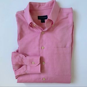 Scott Baker Red/Pink Button Down Collar Shirt